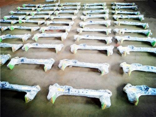 吊装夹具大全打包完成待出口产品展示--河北东圣吊索具制造有限公司--小型搅拌机|石材夹具|液压堆高车|手动叉车